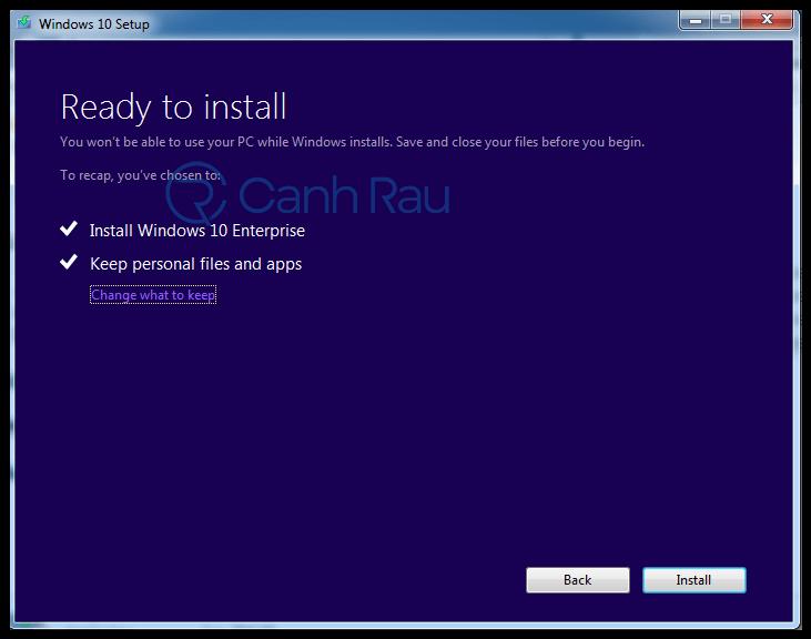 Hướng dẫn nâng cấp lên Windows 10 hình 7