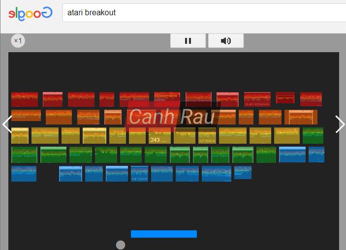 Những trò chơi trên Google bị ẩn hình 5