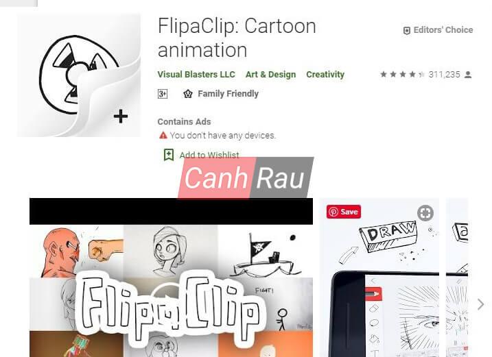 Phần mềm làm phim hoạt hình hình 11