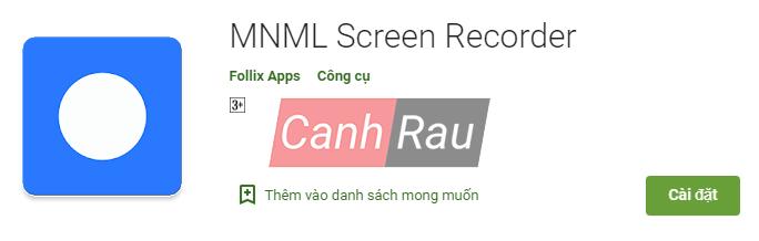Phần mềm quay màn hình Android hình 2