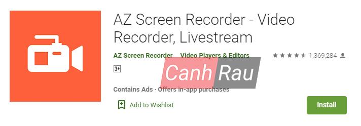 Phần mềm quay màn hình Android hình 6