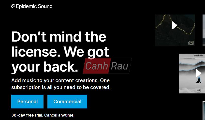 Thư viện nhạc Youtube không bản quyền hình 9