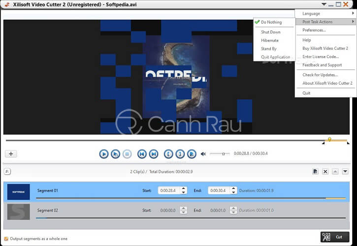 Top phần mềm cắt ghép video cho máy tính hình 12