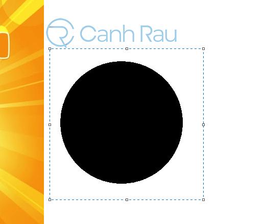 Cách cắt ảnh thành hình tròn hình 25