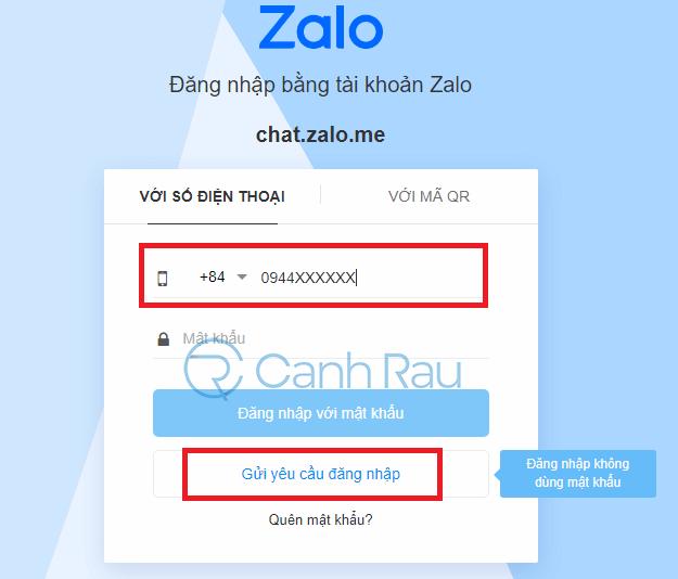 Cách đăng nhập Zalo trên máy tính hình 17