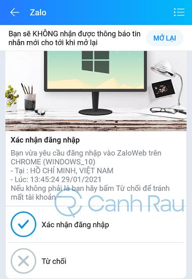Cách đăng nhập Zalo trên máy tính hình 18