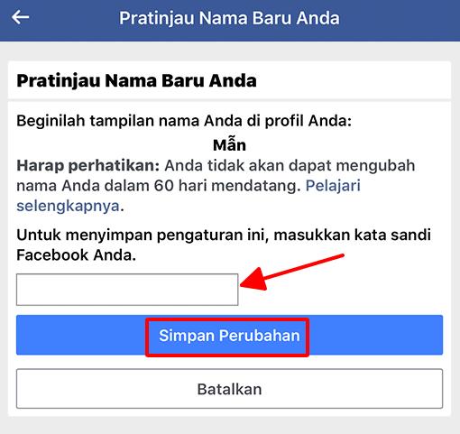 Cách đổi tên Facebook 1 chữ hình 31