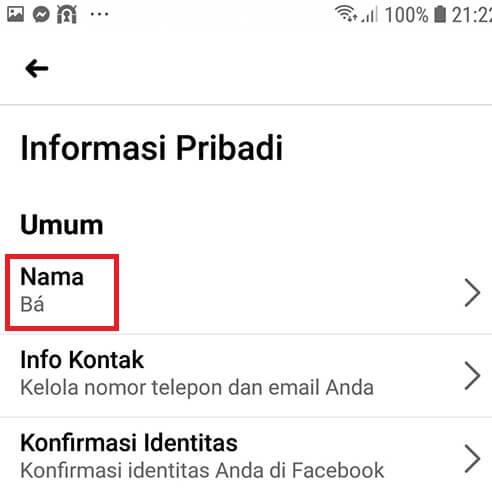 Cách đổi tên Facebook 1 chữ hình 41