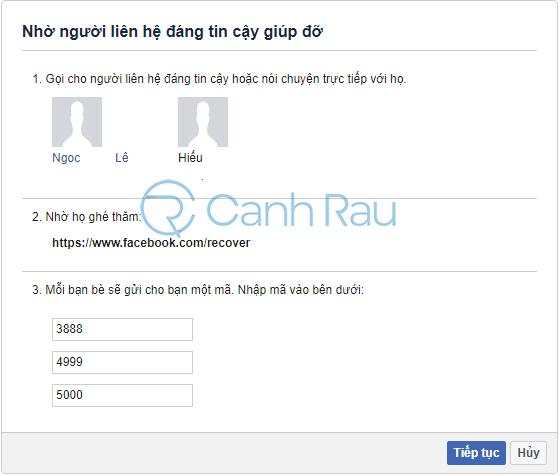Cách lấy lại mật khẩu Facebook khi quên hình 25