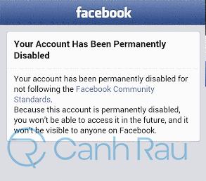 Cách phục hồi tài khoản Facebook bị khóa và vô hiệu hóa hình 22
