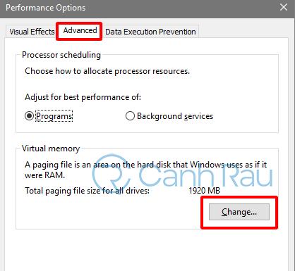 Cách set RAM ảo cho Windows 10 hình 5