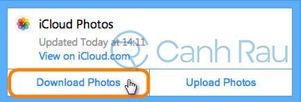 Cách tải ảnh trên iCloud về máy tính hình 18