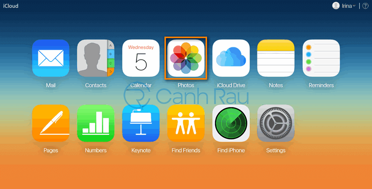 Cách tải ảnh trên iCloud về máy tính hình 9