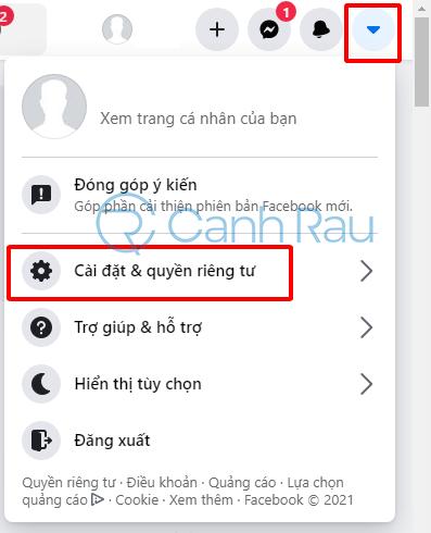 Cách tắt kết bạn trên Facebook hình 1
