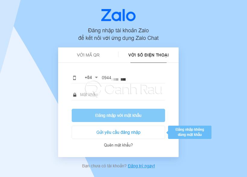 Hướng dẫn cách đăng nhập Zalo trên máy tính hình 6
