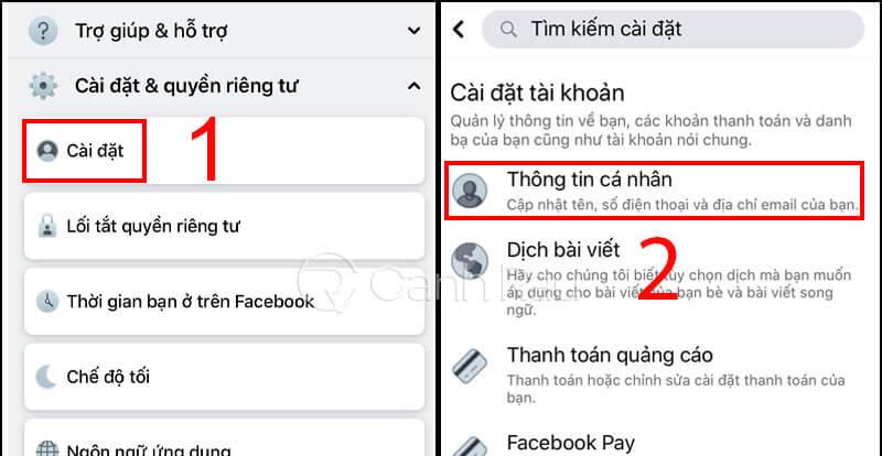 Hướng dẫn cách đổi tên Facebook hình 5