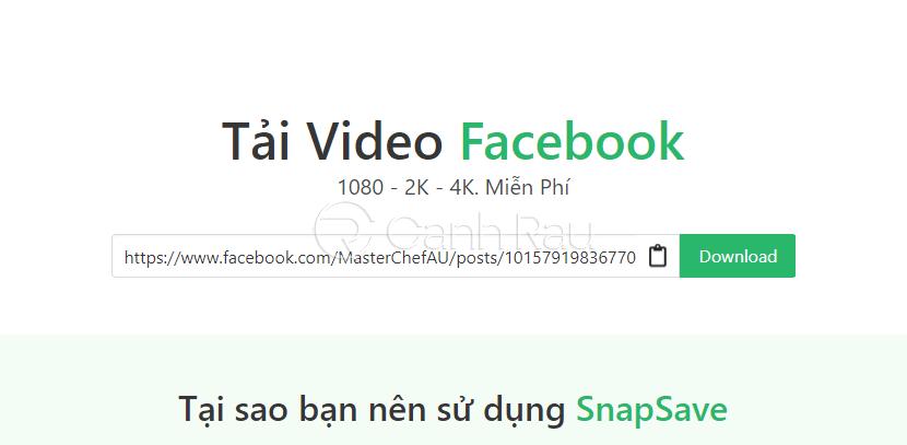 Hướng dẫn cách tải video trên Facebook hình 5