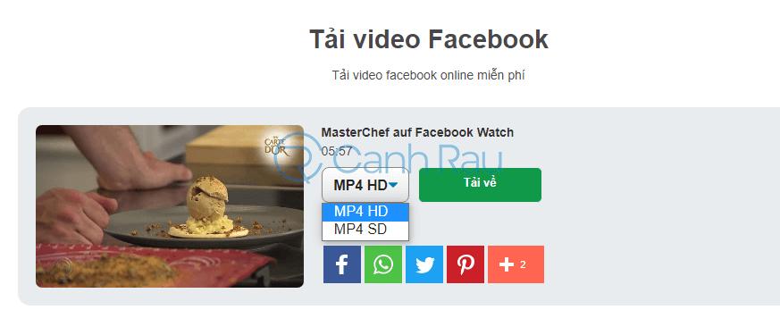 Hướng dẫn tải video trên Facebook về máy tính hình 24