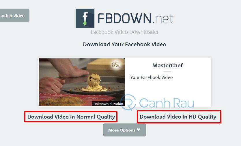 Hướng dẫn tải video trên Facebook về máy tính hình 3