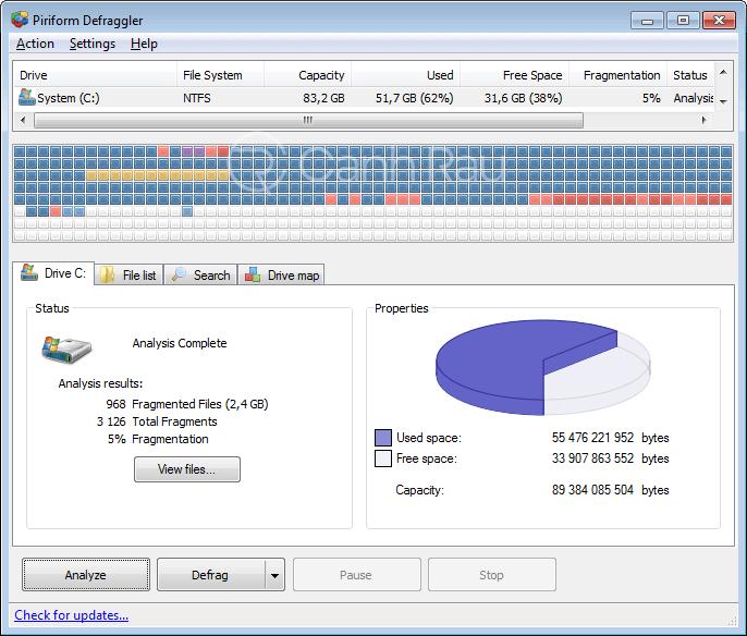 Phần mềm chống phân mảnh ổ cứng tốt nhất hình 2
