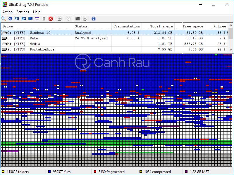 Phần mềm chống phân mảnh ổ cứng tốt nhất hình 6