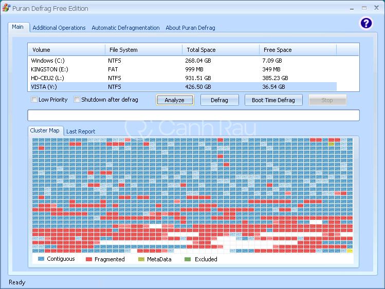Phần mềm chống phân mảnh ổ cứng tốt nhất hình 7