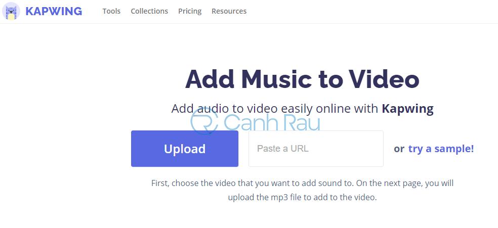 Phần mềm ghép nhạc vào video hình 6