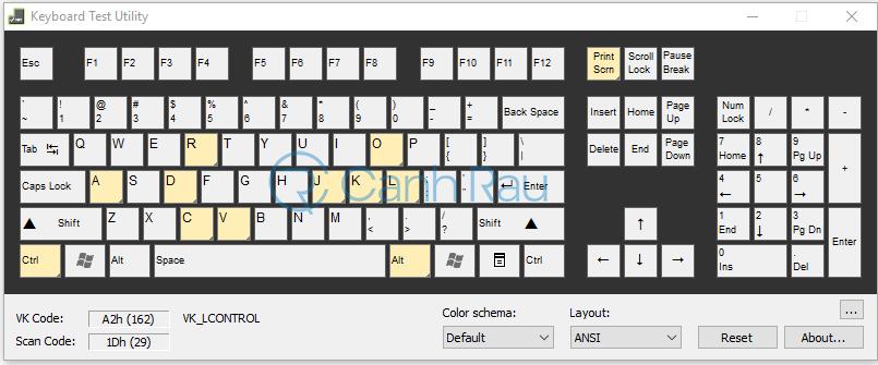 Phần mềm test bàn phím online hình 5