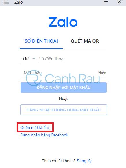 Cách đổi mật khẩu Zalo hình 8