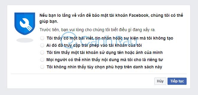 Cách lấy lại mật khẩu Facebook hình 25
