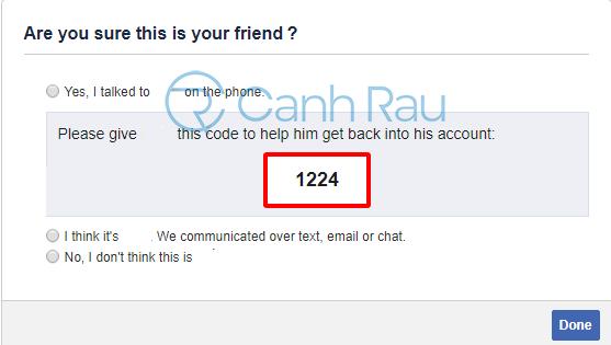 Cách lấy lại mật khẩu Facebook hình 36