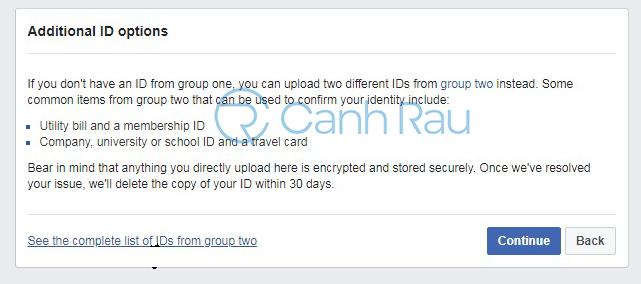 Cách lấy lại tài khoản Facebook bị khóa hình 10