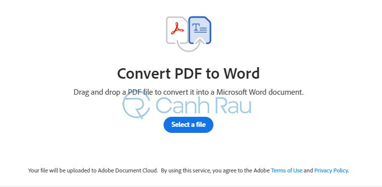 Phần mềm chuyển PDF sang Word không bị lỗi font hình 1