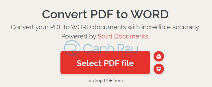 Phần mềm chuyển PDF sang Word không bị lỗi font hình 11