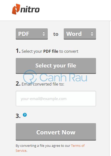 Phần mềm chuyển PDF sang Word không bị lỗi font hình 16