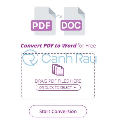 Phần mềm chuyển PDF sang Word không bị lỗi font hình 25