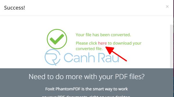 Phần mềm chuyển PDF sang Word không bị lỗi font hình 27