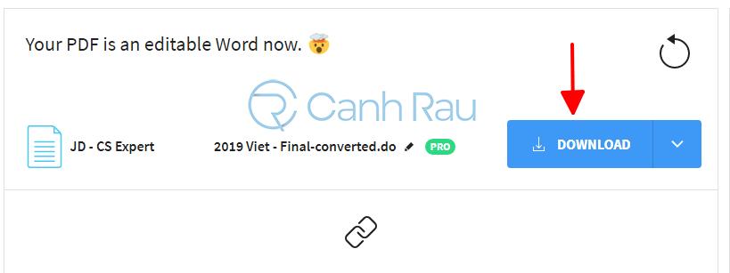 Phần mềm chuyển PDF sang Word không bị lỗi font hình 6