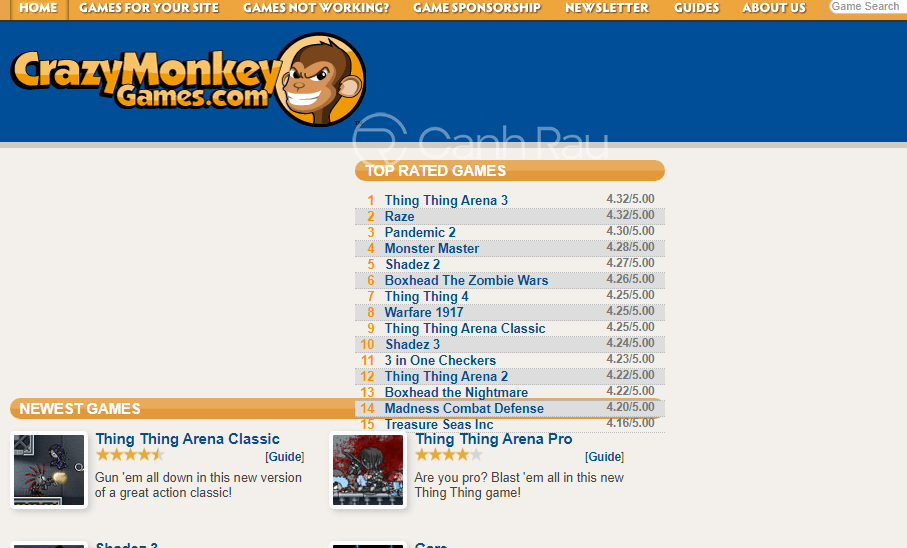 Top web game chơi game online hay và miễn phí hình 19