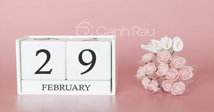 29 tháng 2 là ngày gì hình 1
