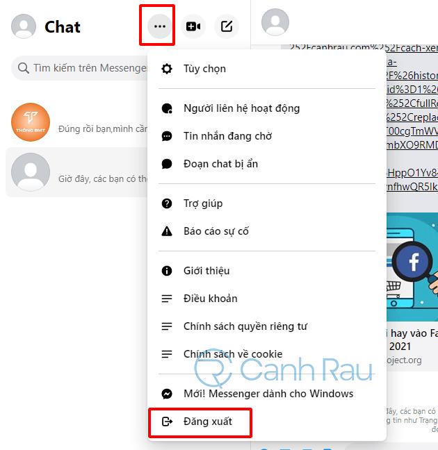 Cách đăng nhập Messenger trên Google Chrome hình 6
