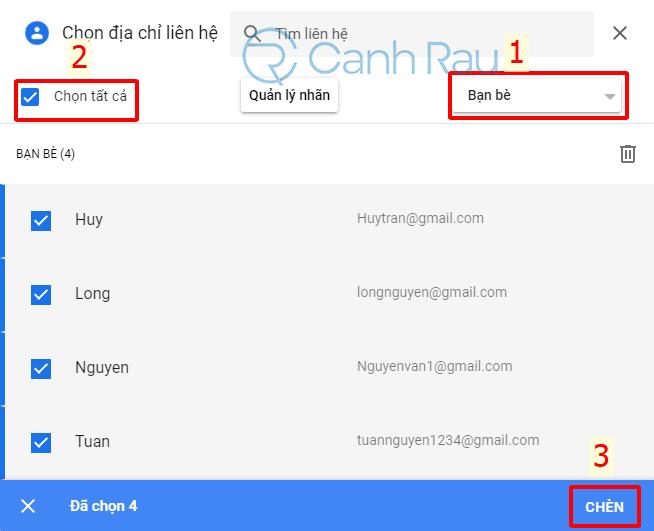 Cách tạo nhóm trong Gmail hình 16