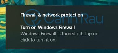 Cách tắt tường lửa Windows 10 hình 14