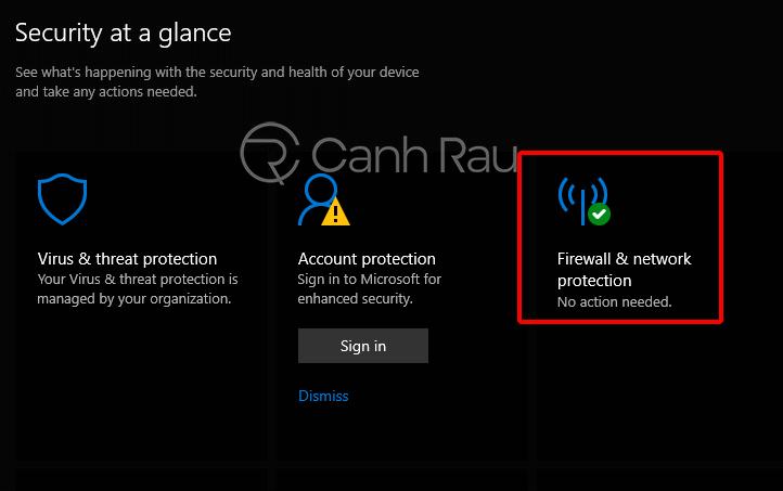 Cách tắt tường lửa Windows 10 hình 22