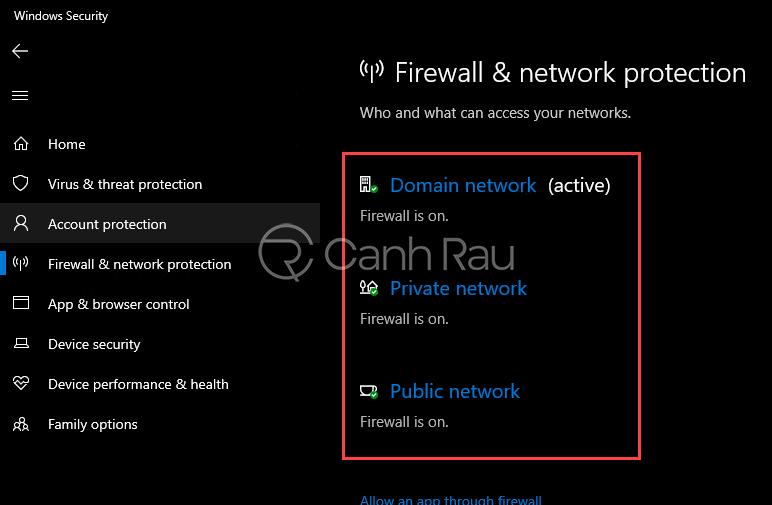 Cách tắt tường lửa Windows 10 hình 23
