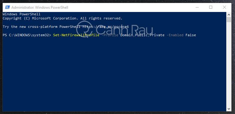Cách tắt tường lửa Windows 10 hình 27
