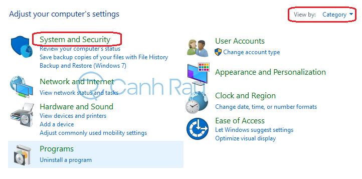 Cách tắt tường lửa Windows 10 hình 8