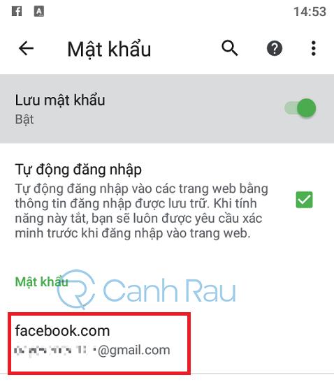 Cách xem mật khẩu Facebook của mình hình 2