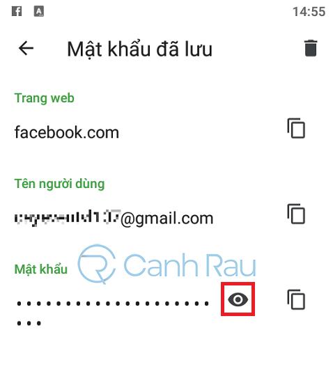 Cách xem mật khẩu Facebook của mình hình 3