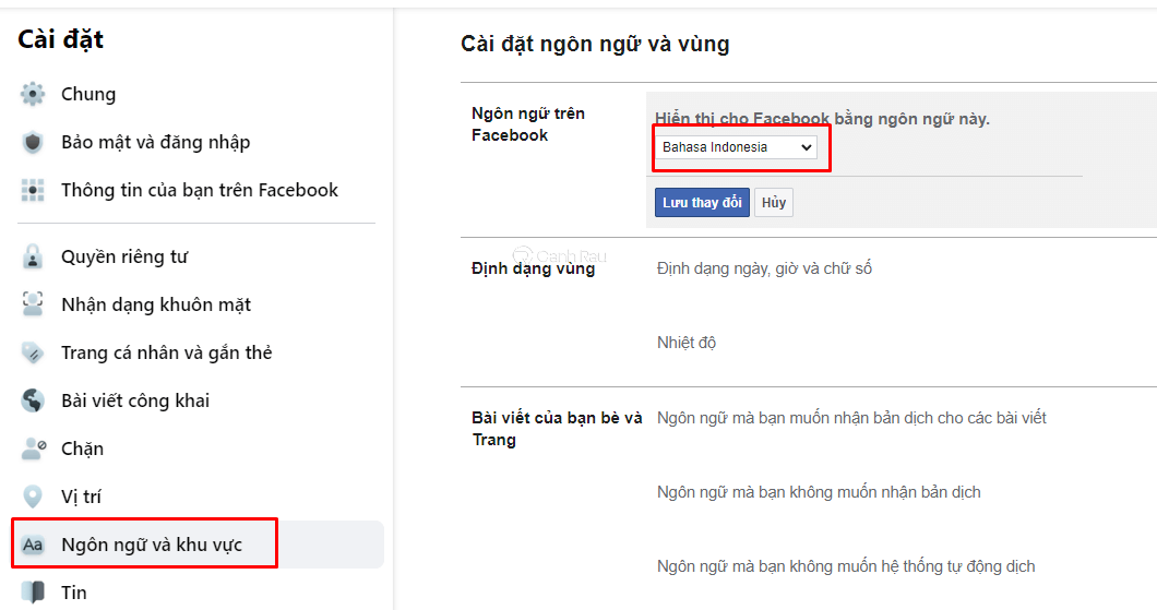 Hướng dẫn cách đặt tên Facebook 1 chữ hình 2